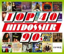 Top 40 Hitdossier 90s, 5 CDs