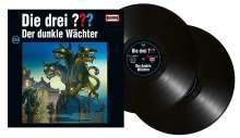 Die drei ???: Die drei ??? (Folge 204) Der dunkle Wächter (180g) (Limited Edition), 2 LPs