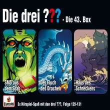 Die drei ??? 43/3er Box (Folgen 129-131), 3 CDs