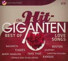 Die Hit-Giganten: Best Of Lovesongs, 3 CDs