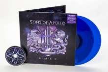 Sons Of Apollo: MMXX (Limited Edition) (Translucent Blue Vinyl) (Exklusiv für jpc!), 2 LPs und 1 CD