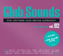 Club Sounds Vol. 92, 3 CDs