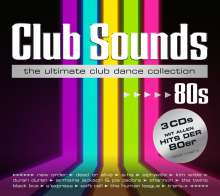 Club Sounds 80s, 3 CDs