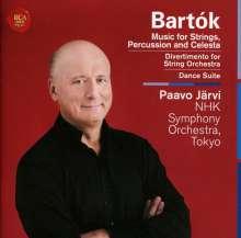 Bela Bartok (1881-1945): Musik für Saiteninstrumente,Schlagzeug & Celesta, CD