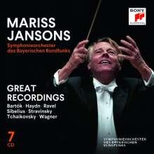 Mariss Jansons & das Symphonieorchester des BR - Great Recordings (Sony), 7 CDs
