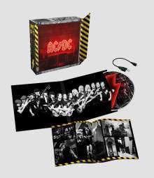 AC/DC: Power Up (Limited Box), 1 CD und 1 Merchandise