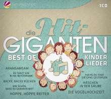 Die Hit-Giganten: Best Of Kinderlieder, 3 CDs