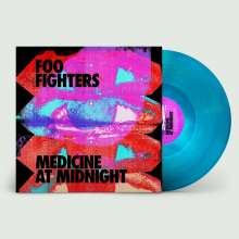 Foo Fighters: Medicine At Midnight (Limited Edition) (Blue Vinyl), LP