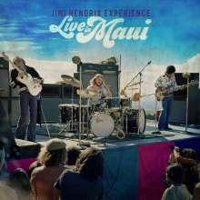 Jimi Hendrix: Live In Maui, 2 CDs und 1 Blu-ray Disc