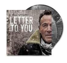 Bruce Springsteen: Letter To You (Limited Edition) (Black with White Splatter Vinyl) (in Deutschland/Österreich/Schweiz exklusiv für jpc!), 2 LPs
