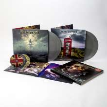 Dream Theater: Distant Memories: Live In London (180g) (Limited Box Set) (Silver Vinyl) (exklusiv für jpc), 4 LPs und 3 CDs