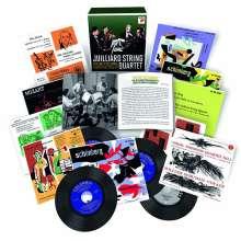 Juilliard Quartet - The Early Columbia Recordings, 16 CDs