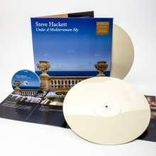 Steve Hackett (geb. 1950): Under A Mediterranean Sky (180g) (Limited Edition) (Creamy White Vinyl) (exklusiv für jpc!), 2 LPs und 1 CD