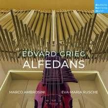 """Edvard Grieg (1843-1907): Werke für Nyckelharpa & Orgel - """"Alfedans"""", CD"""