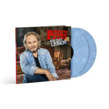Wolfgang Petry: Auf das Leben (180g) (Limited Numbered Edition) (Blue Vinyl), 2 LPs