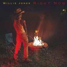 Willie Jones: Right Now (Limited Edition) (Tangerine & Aqua Opaque Galaxy Vinyl), LP
