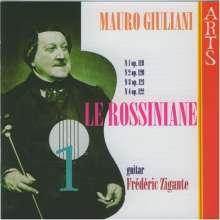 Mauro Giuliani (1781-1829): Le Rossiniane Nr.1-4, CD
