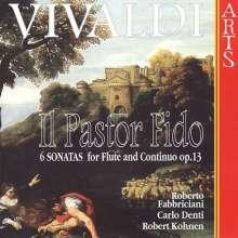 """Antonio Vivaldi (1678-1741): 6 Flötensonaten op.13 """"Pastor Fido""""(RV 54-59), CD"""