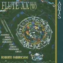 Roberto Fabbriciani - Flute XX Vol.2, CD