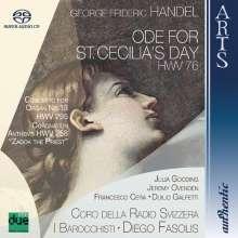 Georg Friedrich Händel (1685-1759): Ode for St.Cecilia's Day, Super Audio CD