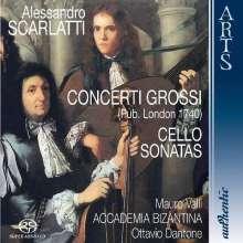 Alessandro Scarlatti (1660-1725): Concerti grossi Nr.1-6, Super Audio CD