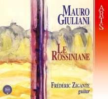 Mauro Giuliani (1781-1829): Le Rossiniane Nr.1-6, 2 CDs