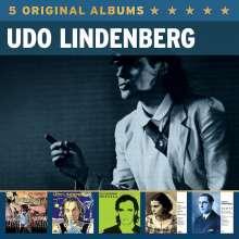 Udo Lindenberg: 5 Original Albums, 5 CDs