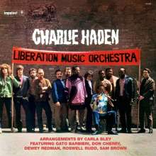 Charlie Haden (1937-2014): Liberation Music Orchestra (remastered) (180g) (Limited Edition), LP