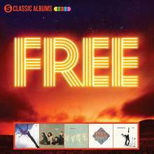 Free: 5 Classic Albums, 5 CDs