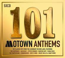 101 Motown Anthems, 5 CDs