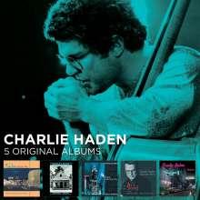 Charlie Haden (1937-2014): 5 Original Albums, 5 CDs
