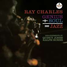 Ray Charles: Genius+Soul = Jazz (Acoustic Sounds) (180g), LP