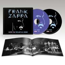 Frank Zappa (1940-1993): Zappa '88: The Last U.S. Show (Limited Edition), 2 CDs