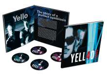 Yello: 40 Years (Limited Earbook), 4 CDs
