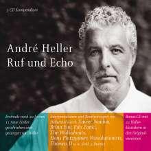 André Heller: Ruf & Echo, 3 CDs