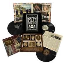 Filmmusik: Peaky Blinders Season 1 - 5, 3 LPs