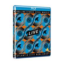 The Rolling Stones: Steel Wheels Live (Atlantic City 1989), Blu-ray Disc