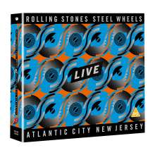 The Rolling Stones: Steel Wheels Live (Atlantic City 1989), 2 CDs und 1 DVD