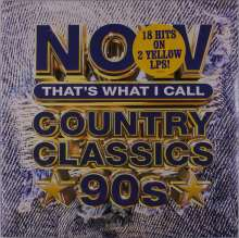 Now That's What I Call Country Classics 90s (Yellow Vinyl), 2 LPs