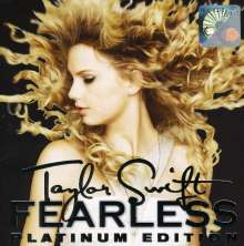 Taylor Swift: Fearless (Platinum Deluxe Edition), 1 CD und 1 DVD