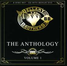 The Bellamy Brothers: The Anthology Vol.1 (CD + DVD), 1 CD und 1 DVD