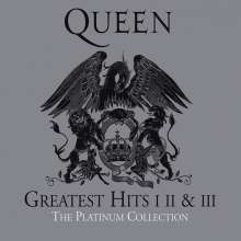 Queen: The Platinum Collection (2011 Remastered), 3 CDs