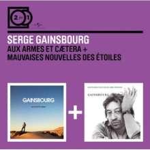 Serge Gainsbourg: Aux Armes Et Caetera/Mauvaises Nouvelles Des Etoiles, 2 CDs