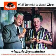 Wolf Schmidt & Liesel Christ: Hessische Spezialitäten, CD