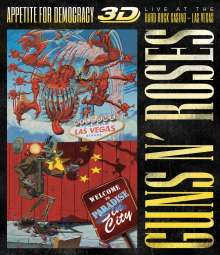 Guns N' Roses: Appetite For Democracy: Live At The Hard Rock Casino - Las Vegas 2012 (Explicit) (3D), Blu-ray Disc