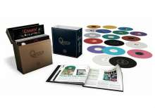 Queen: Complete Studio Album Collection (180g) (Limited Edition Vinyl Box Set) (Colored Vinyl), 18 LPs