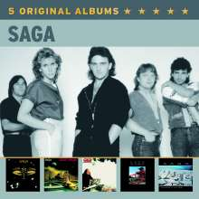 Saga: 5 Original Albums Vol.2, 5 CDs