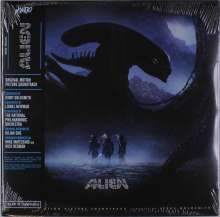 Jerry Goldsmith (1929-2004): Filmmusik: Alien (O.S.T.) (180g) (Limited-Edition), 2 LPs