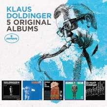 Klaus Doldinger (geb. 1936): 5 Original Albums, 5 CDs