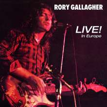 Rory Gallagher: Live! In Europe (remastered 2011) (180g), LP